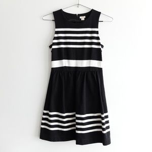 ❗️PRICE DROP❗️ J.Crew B&W Striped Dress